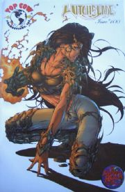 Witchblade #100 Wizard World Gold Foil Michael Turner Variant Top Cow comic book